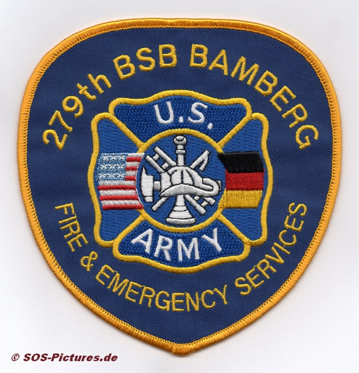 Fire Dept. US-Army Bamberg