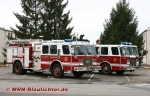 E-One Pumper US Fire Department Mannheim